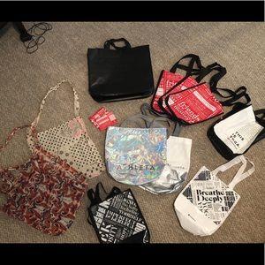 Lululemon, Athleta, Free People bags